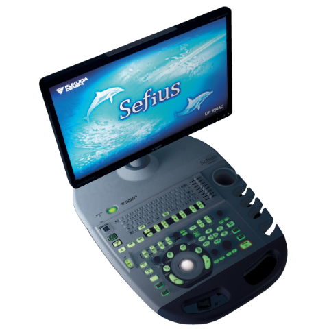 Full HD Color Doppler<br>Ultrasound System<br>sefius UF-890AG